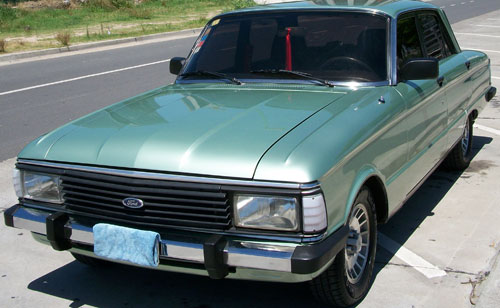 Car Ford Falcon 1986 3.0