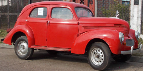 Car Willys 1937