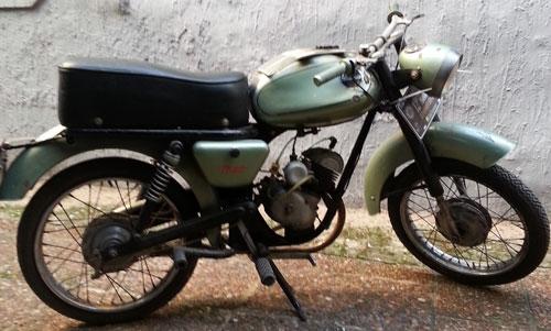 Motorcycle Puma Franke Bisso