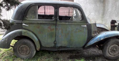 Car Vauxhall 1939 40