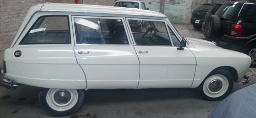 Auto Citroen AMI 8