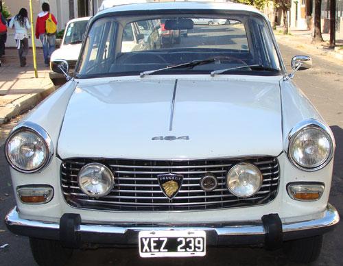 Car Peugeot 404 Gran Prix