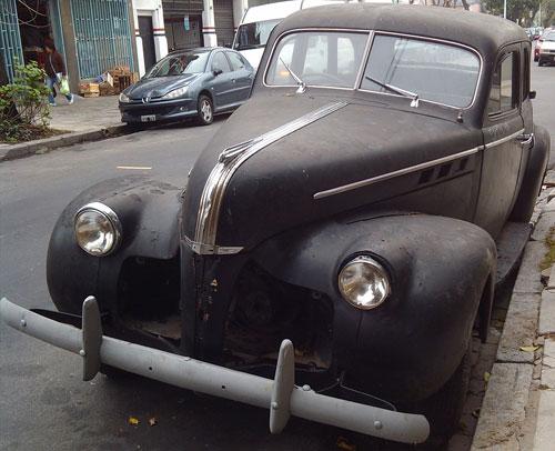 Car Pontiac 1940