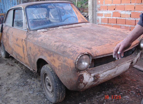 Car Fiat 1500 1967