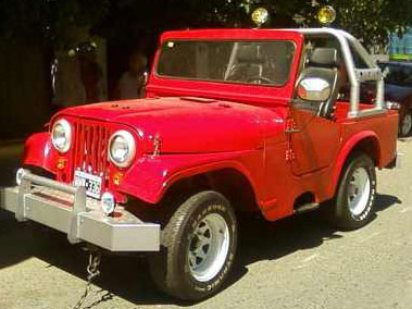 Car Jeep IKA 1960