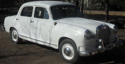 Car Mercedes Benz 180 1962