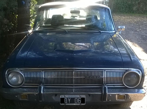 Car Ford Falcon 1970