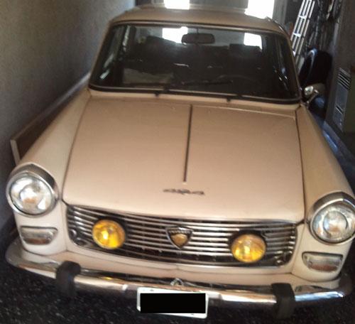 Car Peugeot 404 1978