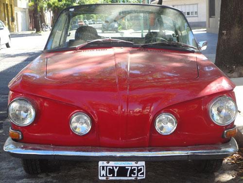 Auto Volkswagen Karmann Ghia 1965 Tipo 34