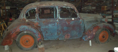 Car Wanderer 1937