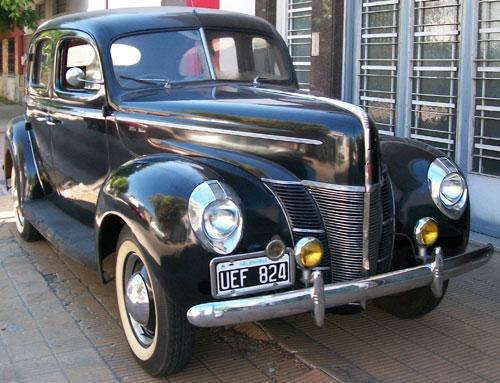 Car Ford 1940 De Lujo