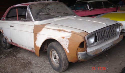 Auto Ford Taunus Coup�