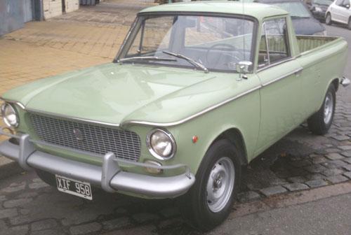 Car Fiat 1500 Multicarga