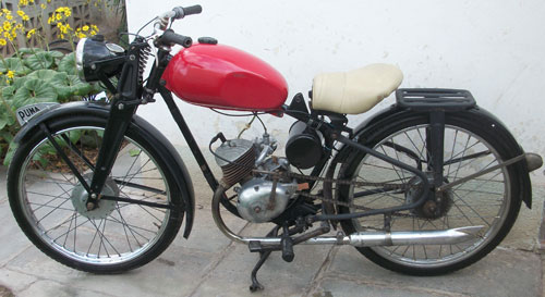 Moto Puma 98 1956