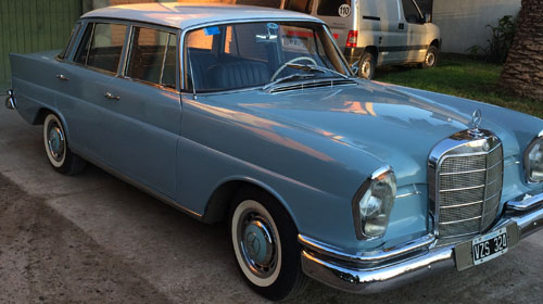Car Mercedes Benz 220 1965