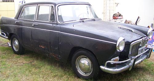 Car Siam Ditella Magnette 1964