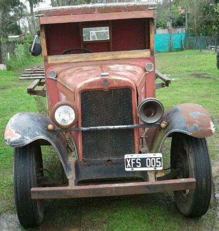 Car Chevrolet 1930 1/2 Ton