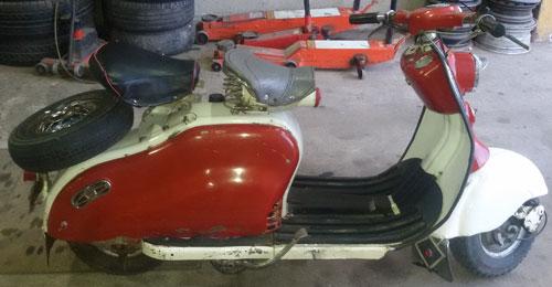 Moto Siamlambretta LD150