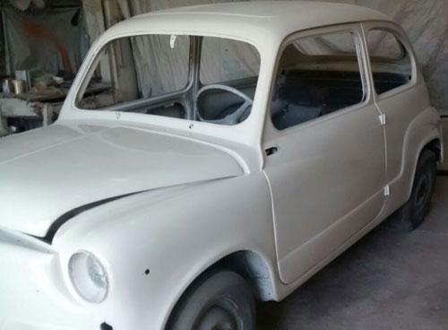 Car Fiat 1962