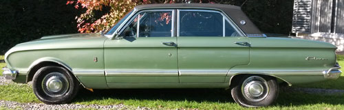 Car Ford Falcon Futura 1971