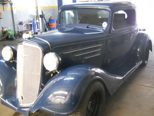Car Chevrolet 1933 3W