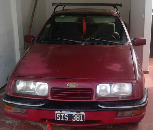 Car Ford Sierra Ghia SX 1991