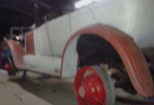 Car Willys Knight Phaeton 1926