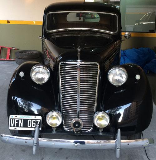 Car Morris Ten
