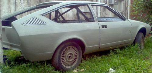 Car Alfa Romeo 1980