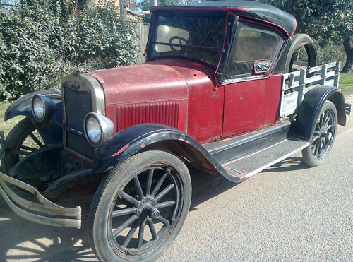 Car Chevrolet 1925 Pick Up