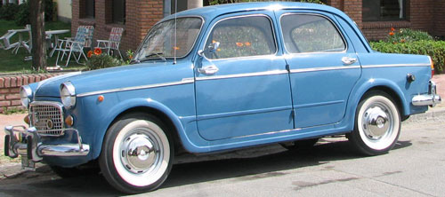 Car Fiat 1100 1961