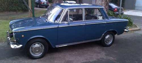 Car Fiat 1963 1500 (corto)