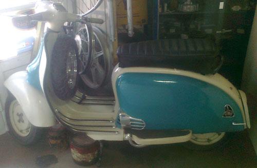 Moto ISO Milano 1962