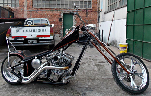 Motorcycle Chopper 125