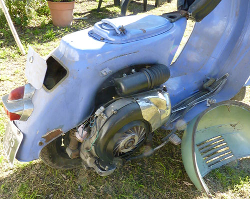 Motorcycle Vespa GS 160 MK1