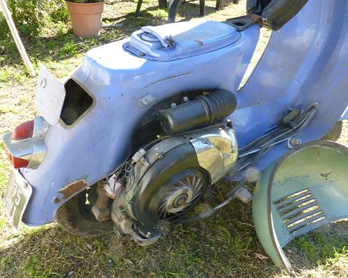 Moto Vespa GS 160 MK1