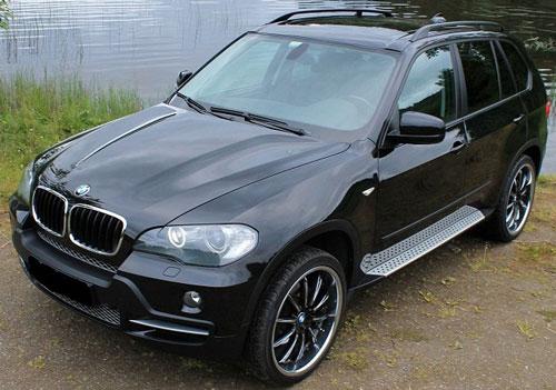 Car BMW X5 3.0 D Comfortseter