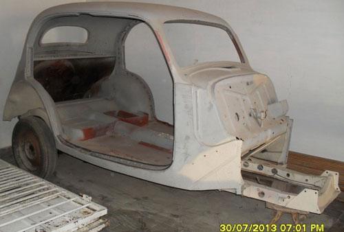 Car Fiat Balilla Sedán Topolino
