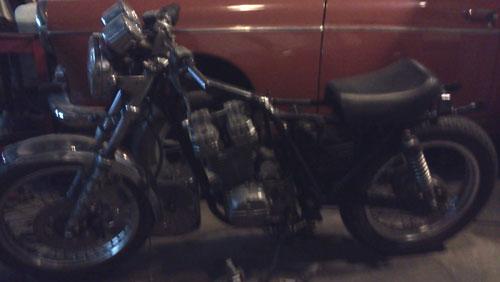 Moto Honda Clubman 250 TT