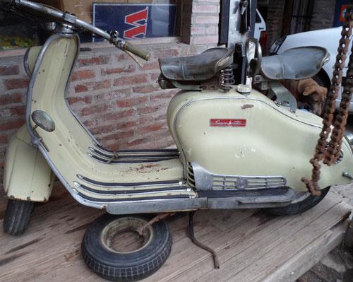 Motorcycle Siambretta Deluxe 1962