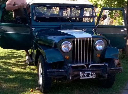 Car Jeep 1963