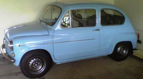 Car Fiat 600 R