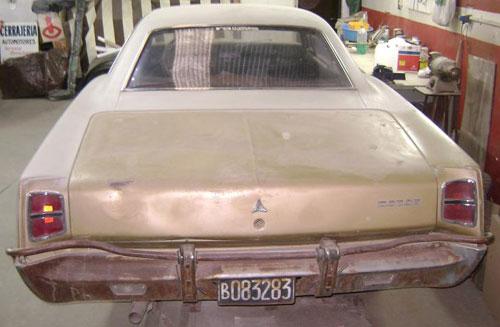 Auto Dodge Coupé