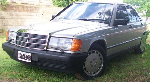 Car Mercedes Benz 190 E