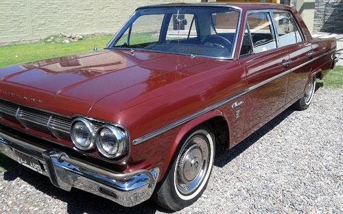 Auto IKA Rambler Classic 380