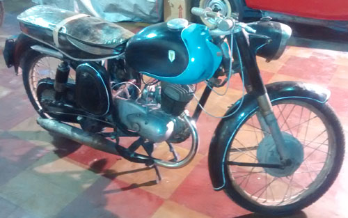 Motorcycle DKW 125