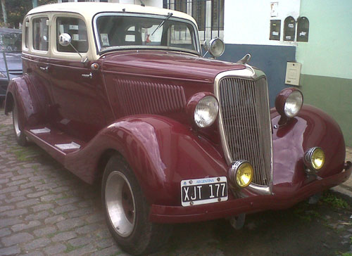 Car Ford BB 1934