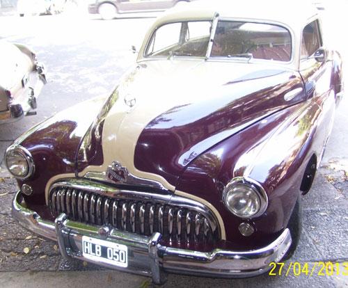 Car Buick Sedanette 1948