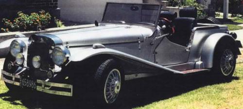 Car Mercedes Benz 1931 (Réplica)