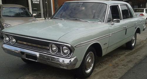 Auto Rambler Classic 660 1964